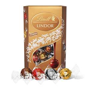 Lindt Lindor Assorted Chocolate Truffles Box - approx. 48 Balls 600g- £7.89 prime / £12.38 nonPrime at Amazon
