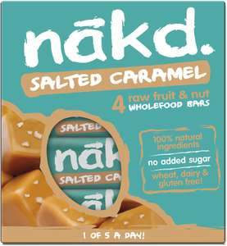 Nakd Salted Caramel 35g Bar - Multipack case of 48 Bars £15 (£4.49 p&p non prime) £12.75/£14.25 s&s @ Amazon