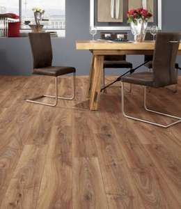 Kronospan Renaissance Oak Laminate Flooring - 1.73m2 Pack (£2.89m2) £5 from Wickes. Free delivery over £75 (£7.95 if under) limited free C&C