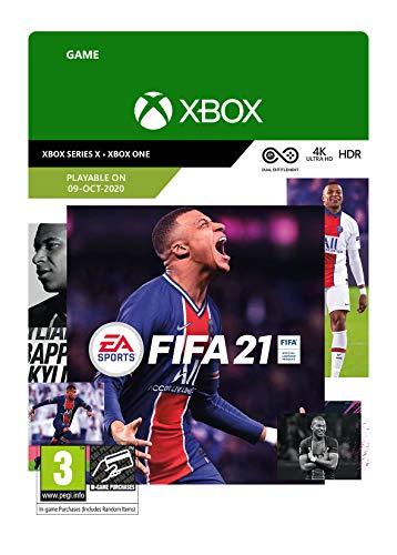 FIFA 21 Standard   Xbox One - Download Code (Includes Series X Digital Upgrade) - £17.99 @ Amazon