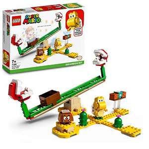 LEGO Super Mario 71365 Piranha Plant Power Slide Expansion Set Buildable Game - £11.64 (+£4.49 non Prime) @ Amazon