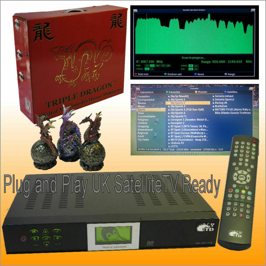 Satellite TV Radio Movie MP3 Player PVR HI-FI SIZE Triple Dragon IBM Linux ( new old stock item ) - £25.98 Delivered @ hisat_com ebay