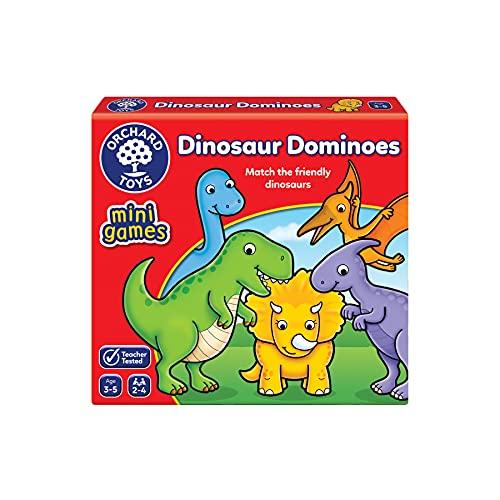 Orchard Toys Dinosaur Dominoes Mini Game £3.29 (Prime) + £4.49 (non Prime) at Amazon