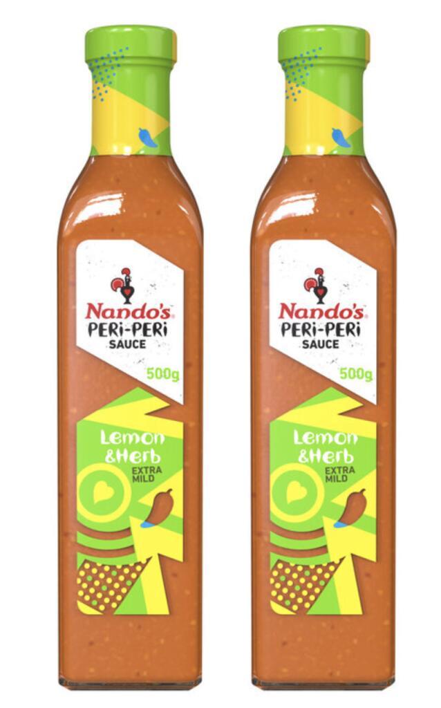 Nando's Lemon & Herb Extra Mild Peri-Peri Sauce 2 x 500ml - £4.49 (Membership Required) @ Costco