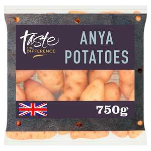 Sainsbury's Anya Potatoes, Taste the Difference 750g £1 at Sainsburys (Min Basket / Delivery Charge Applies)