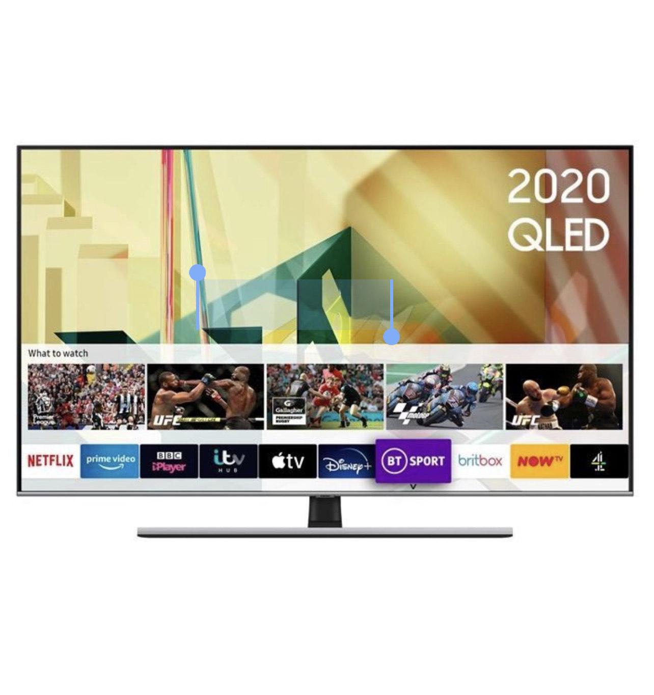"Samsung QE65Q75T 65"" QLED 4K HDR Smart TV - 5 Years Warranty £899 @ Reliantdirect"