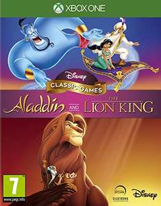 Aladdin and The Lion King (Xbox One) £8.73 / Shenmue 3 (PS4) £9.18 / +£2.99 NP (EU Import) Delivered @ Amazon