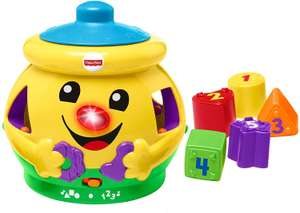 Fisher-Price H8179 Cookie Shape Surprise, Laugh and Learn Shape with Numbers, Colours and Music 6 Months+ £9.41 @ Amazon (£4.49 p&p np)