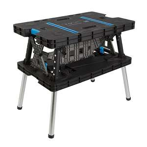 MacAllister Folding Workbench with clamps £54 Delivered / Click & Collect @ B&Q