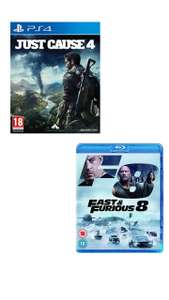 [PS4] Just Cause 4 + Fast & Furious 8 Blu-Ray - £7.45 Prime / £10.44 Non Prime @ Amazon