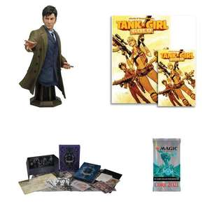 24 Hour Sale - EGs: Doctor Who: Bust: 10th Doctor £25.49 / Tank Girl: Gold (Signed Mini Print Edition) - £3.99 Delivered @ Forbidden Planet