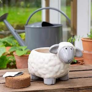 Grow Your Own Mint with Sheep Planter (Includes Peat-free Soil Pellets & Seeds) - £5.60 Using Click & Collect @ Dunelm
