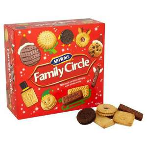 1.24KG McVities Family Circle Biscuits Selection are £1.99 @ Farmfoods (Halifax)