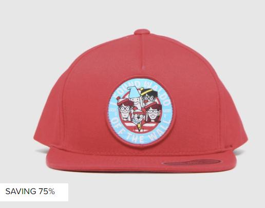 VANS 'Where's Waldo' Kids cap £4.99 @ Schuh free click & collect