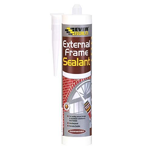 Everbuild EXTGY-EBD External Frame Acrylic Sealant, Grey, 290 ml - £1.72 Prime / +£4.49 non Prime @ Amazon