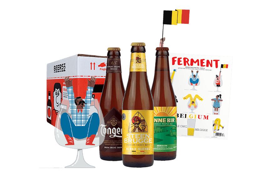 Beer52 10 Belgian Beer bank holiday special- No Subscription needed £23.99 delivered @ Beer52