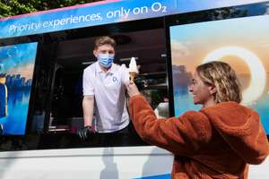 Free Mr Whippy Ice-cream at Southbank London Wednesday 26th May O2 priority