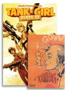 Tank Girl: Gold (Signed Mini Print Edition) Signed by Author: Alan Martin £3.99 delivered @ Forbidden Planet