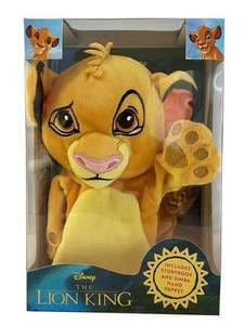 Disney The Lion King Book and Simba Hand Puppet Hardcover £6.79 Free Click & Collect @ WH Smith