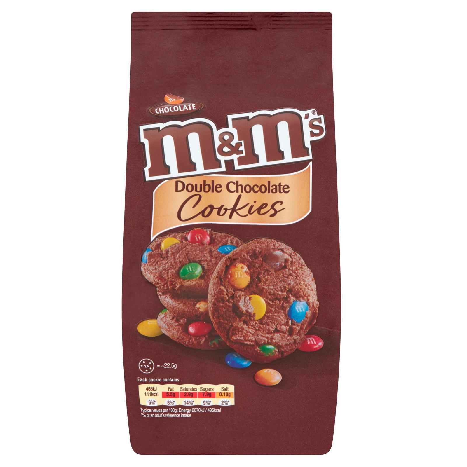 M&M's Double Choc / Galaxy White Choc Chunk / Galaxy Choc Chunk Cookies , 2 Pks For £2.50 ( OR £1.49 Each ) @ Iceland