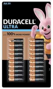 Duracell Ultra Power AA Alkaline Batteries - 20 Pack - £7.49 (Membership Required) @ Costco