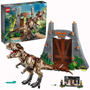 LEGO Jurassic Park: T Rex Dinosaur Rampage - 75936 £176 Free click and collect / £3.95 delivery @ Argos