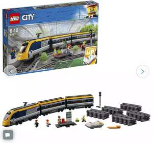 LEGO City 60197 Passenger RC Train Toy Construction Set - £70 at Argos free click & Collect