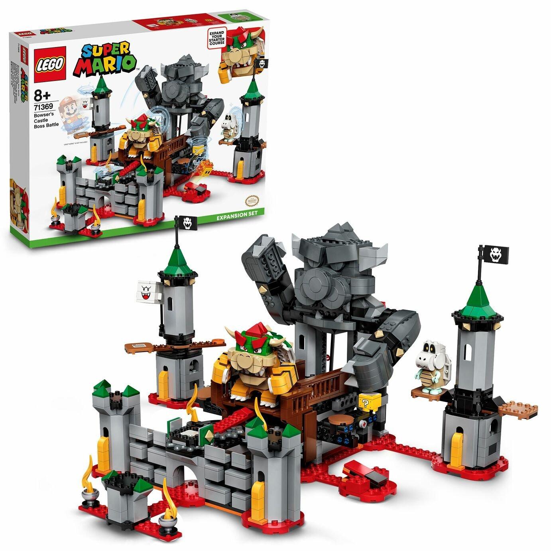 LEGO Super Mario 71369 Bowser's Castle Battle Expansion Set £60 Argos free click & collect