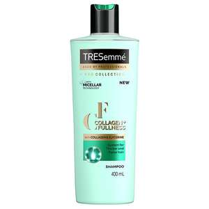 TRESemmé Pro Collection Shampoo Collagen & Fullness 400ml - ONLY 62p (Free collection / Limited Availability) @ Superdrug
