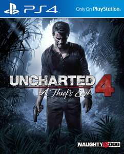 Uncharted 4 £7.99 The Last of Us £7.99 God of War £7.99 Horizon Zero Dawn £7.99 Days Gone £13.99 [PS4] with Free Click & Collect @ Argos