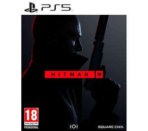 HITMAN 3 - (PS5/PS4) £29.99 With Code (Xbox One I Series X) - £27.97 - delivered with Code @ Currys & PCWorld