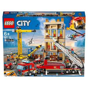 LEGO City 60216 Downtown Fire Brigade Building Set £62.97 Asda George - free Click & Collect / £2.95 delivery