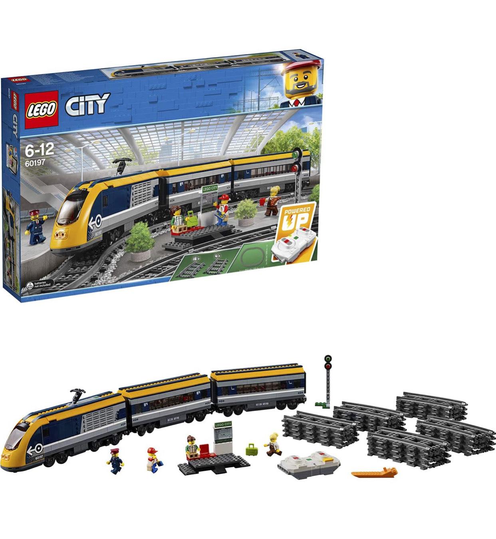 LEGO City 60197 PassengerTrainSetBatteryPoweredEngine £70 at Amazon