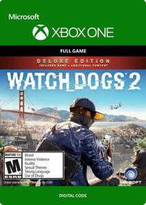 Watch dogs 2 deluxe edition xbox one - £10.79 @ CDKeys