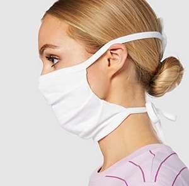 Oscar Apparels Reusable Adjustable Face Mask 5 Pack 100% BCI Cotton, Adult £0.64 (+£4.49 np) Amazon