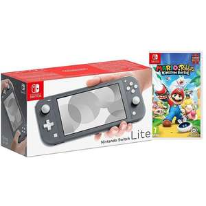 Switch Lite Grey with Mario and Rabbids £189 using code (+£3.50 Delivery) @ Home Essentials