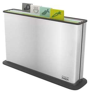 Joseph Joseph Index Chopping Board Set-Opal, Stainless-Steel, 4-Piece - Two Colours - £37.11 at Amazon