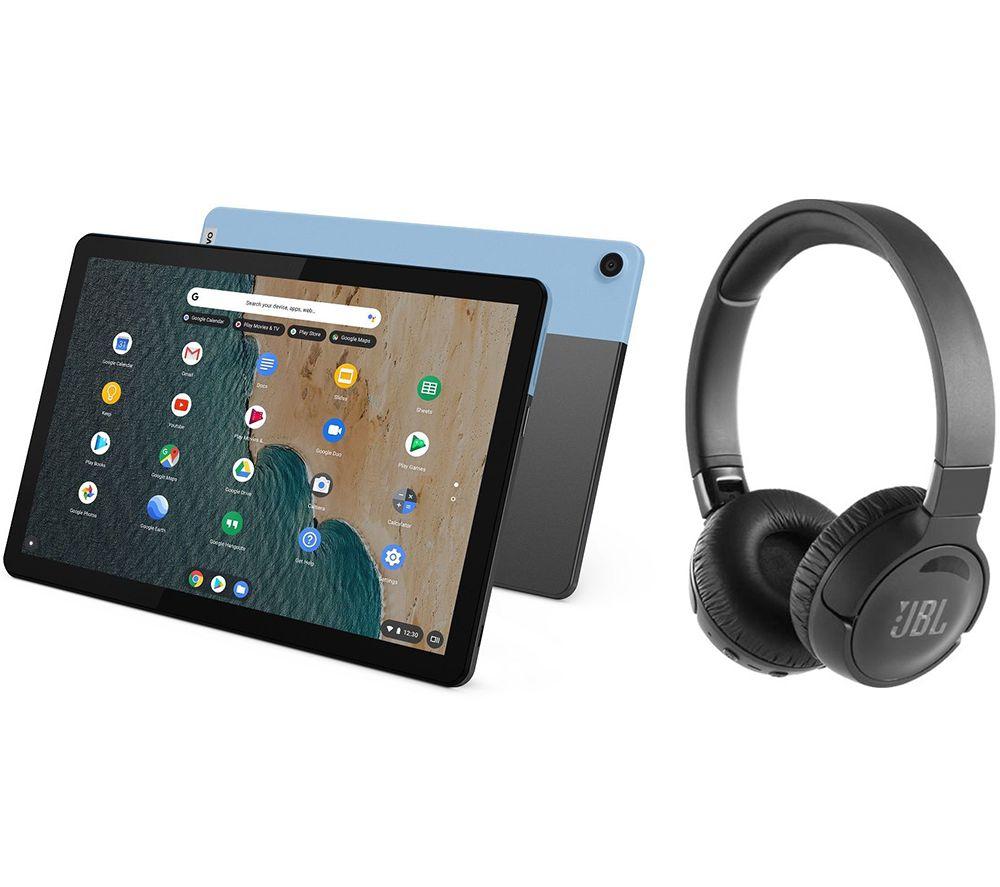 "LENOVO IdeaPad Duet 10.1"" 2 in 1 Chromebook & Wireless Noise-Cancelling Headphones Bundle - MediaTek P60T, 128GB £269 @ Currys PC World"