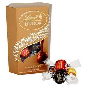 Lindt Lindor Assorted Chocolate Truffles 337g are £1.88 @ Tesco Express Rochdale