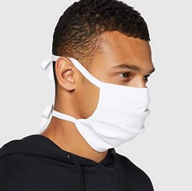 Oscar Apparels Reusable Adjustable Face Mask - 10 Pack 100% BCI Cotton Adult 85p prime / £5.34 nonprime at Amazon