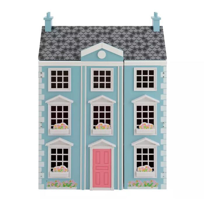Jupiter Workshops Wooden Georgian Manor Dolls House [H71.5, W51, D26.5cm] - £33.75 Using Click & Collect @ Argos