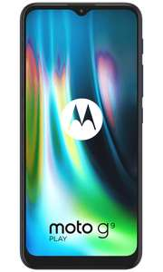 Motorola Moto G9 Play PAYG Phone £120 When bought with a £10+ bundle @ VodaFone