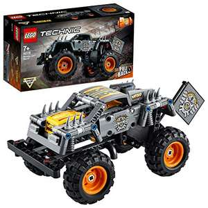 LEGO 42119 Technic Monster Jam Max-D Truck Toy to Quad Bike Pull Back 2 in 1 Building Set £11.53 Amazon +£4.49 non Prime at Amazon