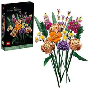 LEGO 10280 Creator Expert Flower Bouquet, Artificial Flowers, Botanical Collection, Set for Adults £31.98 at Amazon