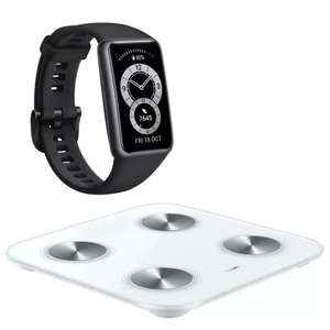 Huawei Band 6 with Smart Scale 3 or Speaker for £54.99 delivered (using code) @ Huawei