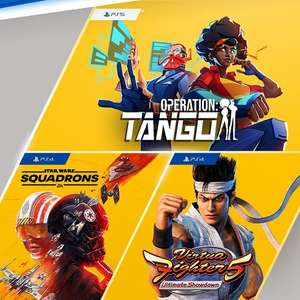 PS Plus Games (June 2021) - Star Wars: Squadrons (PS4), Virtua Fighter 5: Ultimate Showdown (PS4), Operation: Tango (PS5)