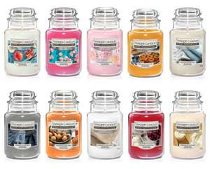 Yankee Candle Home Inspiration Large Jars - £9.99 (Free Click and Collect or Free delivery with £40 spend) @ Ryman