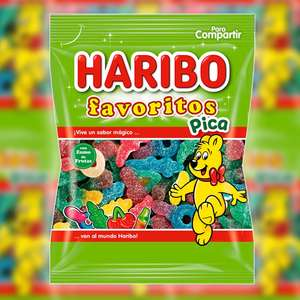 1 x Haribo Fizzy Favourites Pica Large 300g Pack (Best Before August 2021) - £1 delivered @ Yankee Bundles