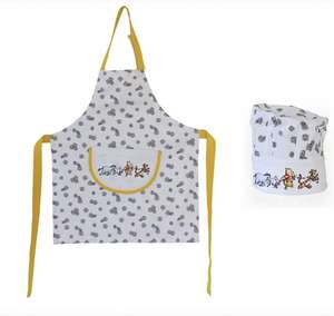 Disney Winnie The Pooh Children's Cooking Apron and Hat Set - £9 + Free Click & Collect @ Asda / George