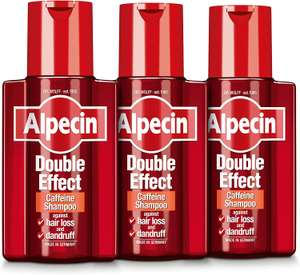 Alpecin Double Effect Shampoo 200ml (Pack of 3) £11.76 (+ £4.49 Non Prime) or £10 with S&S @ Amazon